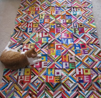 Busy quilt