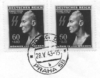 Heydrich_commemorative_stamp