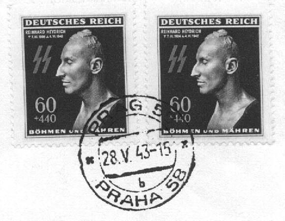 Heydrich_commemorative_stamp