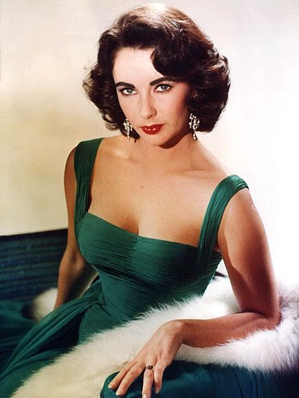 Elizabeth-taylor_green_dress