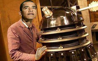Obama and dalek