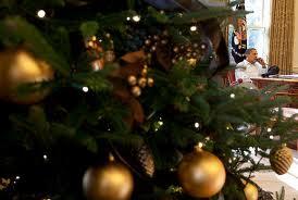 Christmas tree obama