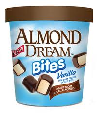 Almond dream bites