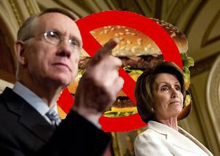 Harry reid nancy pelosi no burger