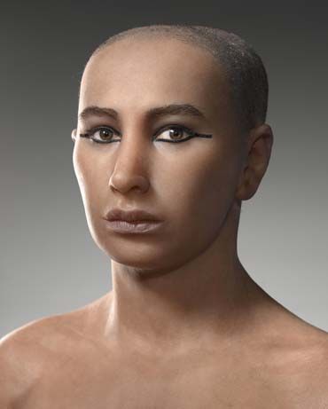 King tut reconstructed