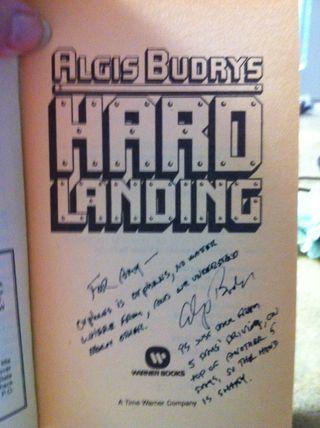 Hard landing algis budrys