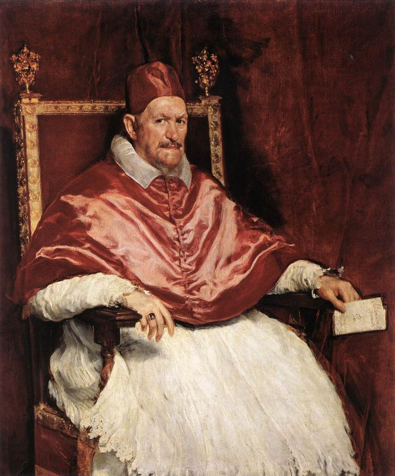 Pope Innocent X by Velasquez