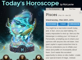 Motor mouth horoscope